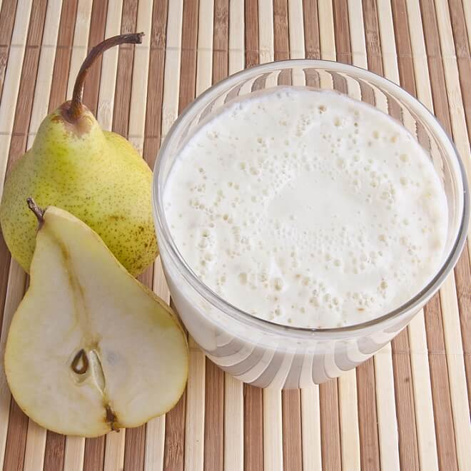 Πατάτα, αχλάδι, κουνουπίδι και άλλες άσπρες τροφες που σε γεμίζουν ενέργεια! Συνταγή για γλυκό λευκο smoothie! - Shape.gr
