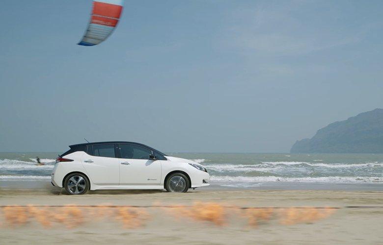 Το Nissan Leaf «προκαλεί» τα στοιχεία της Φύσης