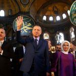 Ανυποχώρητος Ερντογάν για Αγία Σοφία: «Αίτημα του έθνους μας η μετατροπή σε τζαμί»