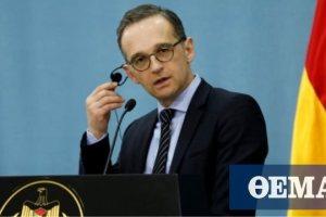 Μάας: Η διευθέτηση του ζητήματος των τουρκικών γεωτρήσεων προϋπόθεση για τον ευρωτουρκικό διάλογο