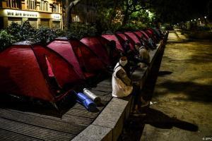 Νέα προσφυγούπολη στο Παρίσι | DW | 03.07.2020