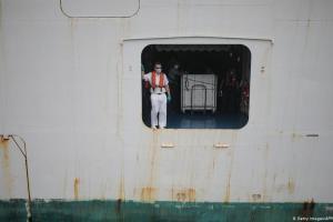 Ναυτικοί σε αναγκαστική καραντίνα λόγω κορωνοϊού   DW   13.07.2020