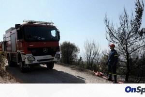 Πολύ υψηλός ο κίνδυνος πυρκαγιάς τη Δευτέρα (χάρτης)
