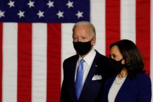 ΗΠΑ: Εμφανίστηκαν μαζί  Τζον Μπάιντεν και Καμάλα Χάρις