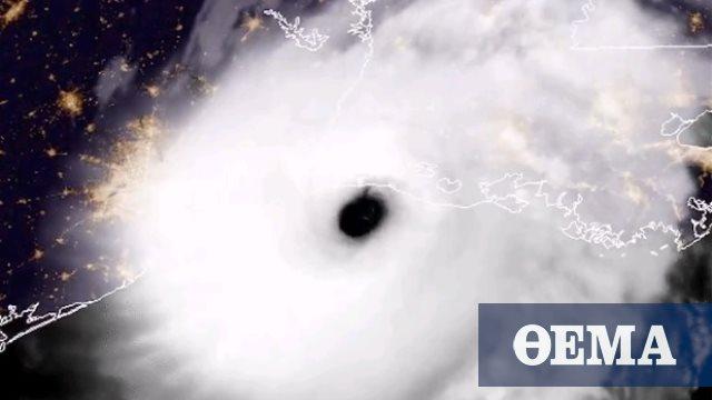 ΗΠΑ: Η στιγμή που ο κυκλώνας «Λόρα» μπαίνει στη Λουιζιάνα - Δείτε εικόνα από δορυφόρο