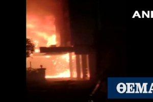 Ινδία-κορωνοϊός: Επτά νεκροί σε πυρκαγιά σε ξενοδοχείο φιλοξενίας ασθενών με Covid-19