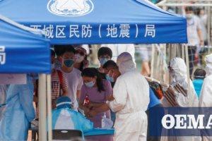 Κορωνοϊός - Κίνα: 37 νέα κρούσματα, τα 30 «εσωτερικά»
