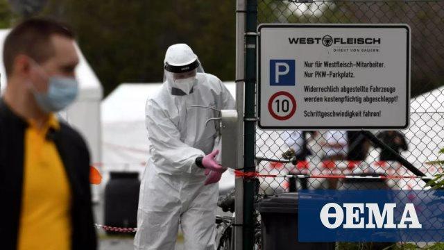 Κορωνοϊός: 1.507 νέα κρούσματα μόλυνσης στη Γερμανία