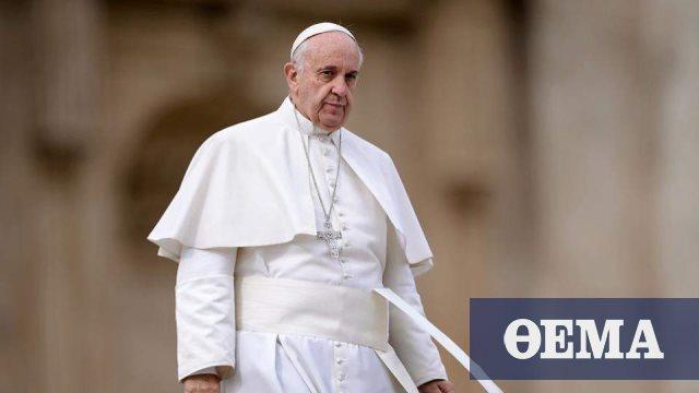 Πάπας Φραγκίσκος: Ανησυχώ για την ένταση στην Ανατολική Μεσόγειο