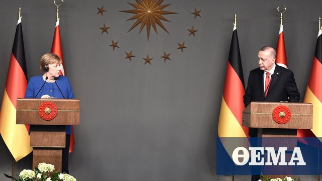 Επικοινωνία Μέρκελ - Ερντογάν: Απαράδεκτο να υποστηρίζουν χώρες την Ελλάδα είπε ο Τούρκος πρόεδρος