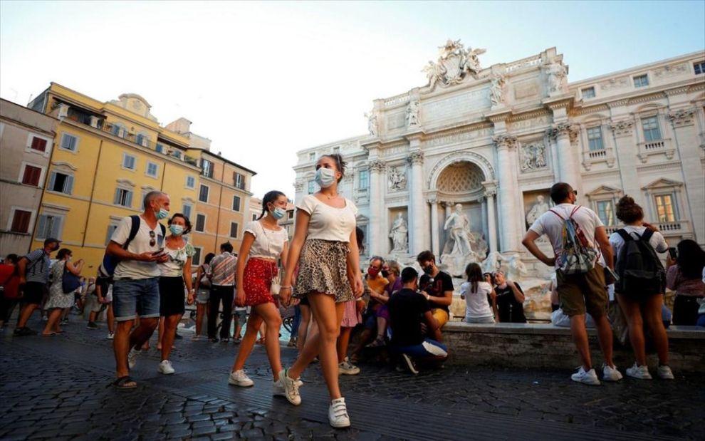 Ιταλία: 1.229 κρούσματα σε μία ημέρα - Γεμίζουν οι ΜΕΘ - Ειδήσεις - νέα - Το Βήμα Online