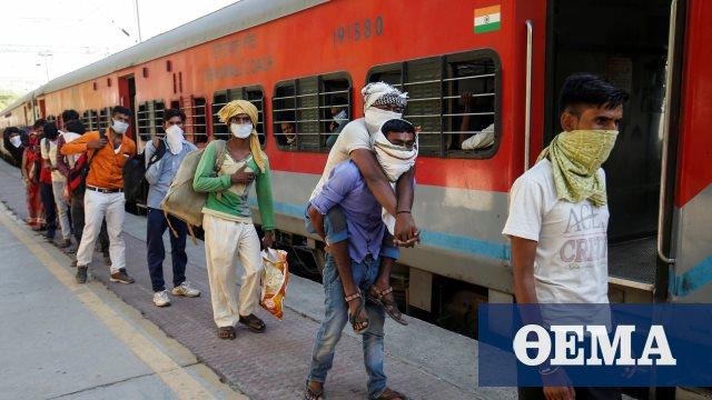 Κορωνοϊός: Αριθμός ρεκόρ 96.551 νέων κρουσμάτων καταγράφηκε σε μια ημέρα στην Ινδία