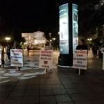 Μεταμεσονύκτια διαμαρτυρία στο Σύνταγμα για τo πλήγμα στον κλάδο της εστίασης