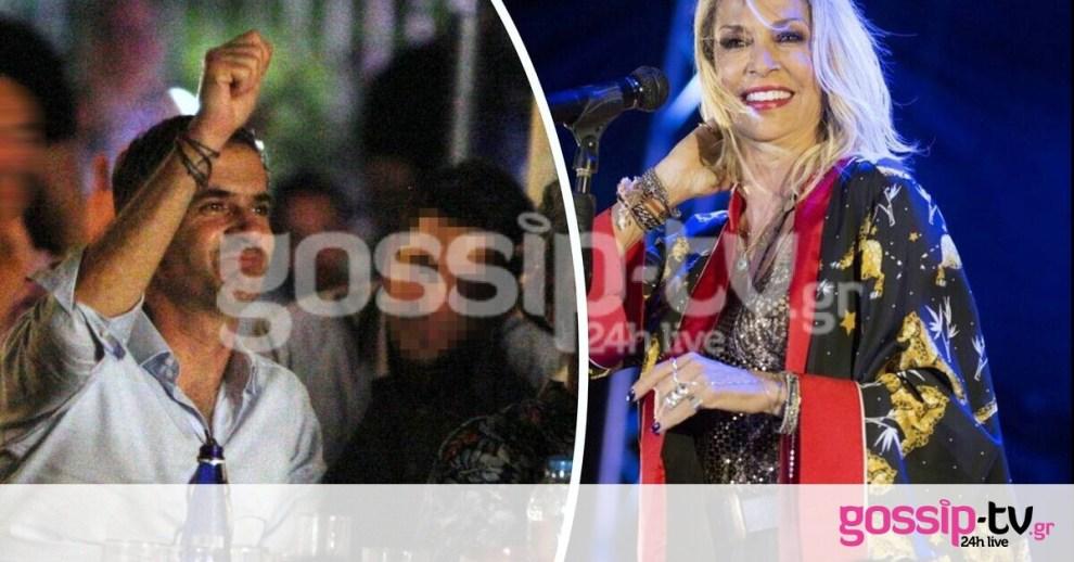 Ο Μπακογιάννης το καταδιασκέδασε στη συναυλία της Βίσση χθες το βράδυ! (pics)