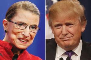Τρέχει ο Τραμπ: Ανακοινώνει τον αντικαταστάτη της Ρουθ Μπέιντερ Γκίνσμπεργκ