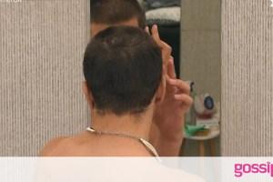 Big Brother: Ξύρισε τα μαλλιά του γουλί on camera! (video)