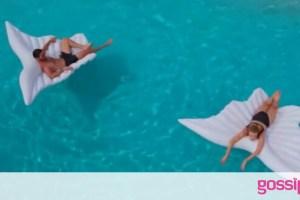 GNTM: Το σοκ των μοντέλων όταν είδαν Καράβα και Καγιά μέσα στην πισίνα