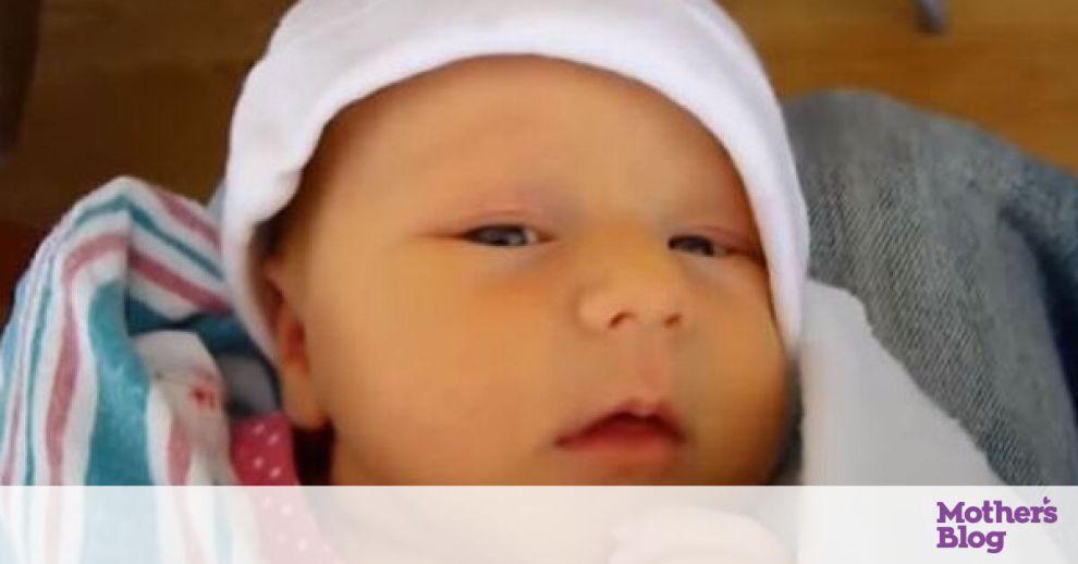 Όταν το μωρό έχει λόξιγκα - Δείτε απίθανες αντιδράσεις