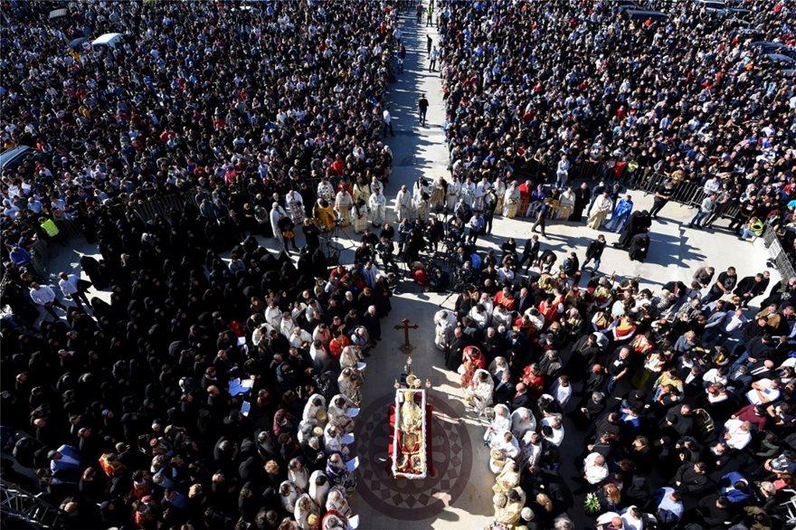 Ειρηναίος : Σε κλίμα συγκίνησης η κηδεία του Πατριάρχη Σερβίας - Ειδήσεις - νέα - Το Βήμα Online