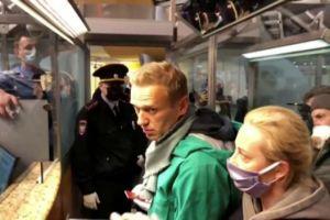 Αλεξέι Ναβάλνι : Αντιδράσεις σε ΗΠΑ και Ευρώπη για τη σύλληψη του στη Μόσχα
