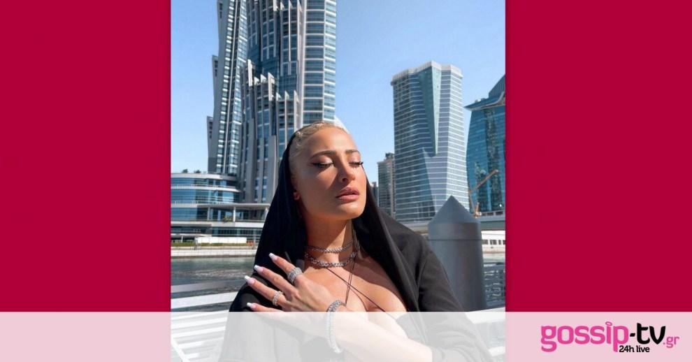 Ιωάννα Τούνη: Μας τρέλανε! Με κόκκινο μπικίνι συνεχίζει τις διακοπές της στο Ντουμπάι!