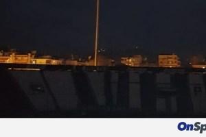Μαύρο σκοτάδι στην Τούμπα: Έπεσε το ρεύμα πριν το ΠΑΟΚ-ΑΕΚ! (photos)