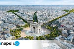 Παρίσι: Δίνεται το «πράσινο φως» για την αναμόρφωση της Champs-Élysées σε έναν «εντυπωσιακό κήπο» - Monopoli.gr