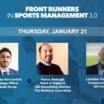 Σπουδαία ονόματα του αθλητισμού στο Front Runners 3.0