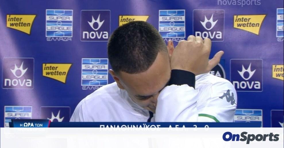 Συγκλόνισε ο Εμμανουηλίδης - Έκλαψε αφιερώνοντας το γκολ στη μνήμη της μητέρας του (video)