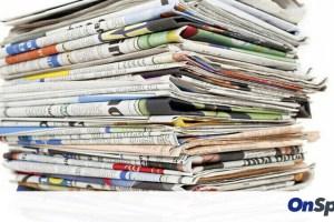 Τα πρωτοσέλιδα των αθλητικών εφημερίδων της ημέρας (22/01)