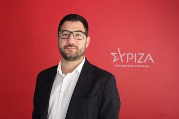 Ηλιόπουλος: Βαριές οι πολιτικές ευθύνες του κ. Μητσοτάκη στην υπόθεση Λιγνάδη