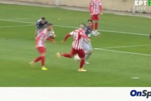 Ξάνθη-Τρίκαλα: Γκολ σε ιδανική αντεπίθεση (video)