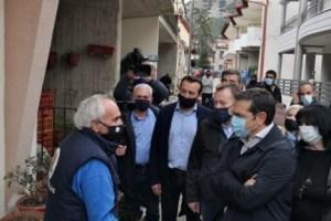 Αλ. Τσίπρας από τις σεισμόπληκτες περιοχές: Αυτό που προέχει τούτη την ώρα είναι να δοθούν οι αποζημιώσεις