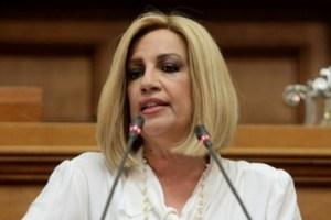 Γεννηματά στη Βουλή: Εξαντλήσατε την υπομονή των πολιτών και την αντοχή της οικονομίας