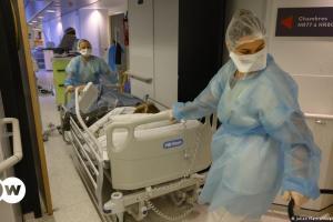 Πανδημία: Τρίτη σε θανάτους η Γαλλία | DW | 15.04.2021