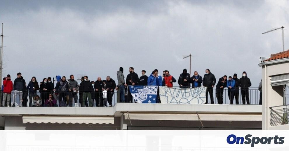 Το επικό πανό για Γιαννίκη στο ΠΑΣ Γιάννινα-Ολυμπιακός