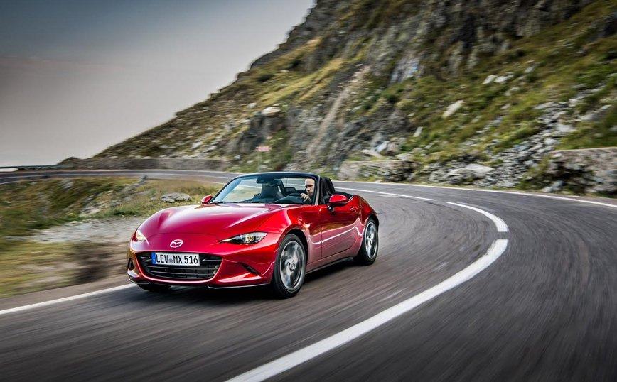 Mazda MX-5: Ανανεώνεται το πιο διάσημο roadster