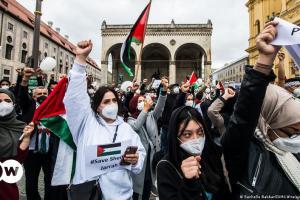 Διαδηλώσεις κατά του Ισραήλ στη Γερμανία | DW | 15.05.2021