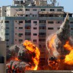 Ισραήλ: Νόμιμος στόχος το κτίριο των ΜΜΕ στη Γάζα που βομβαρδίστηκε