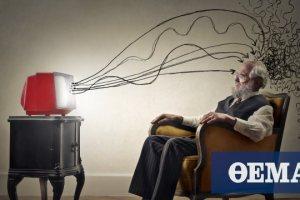 Νέες έρευνες: «Ένοχη» η τηλεόραση για την απώλεια φαιάς ουσίας στη μέση ηλικία