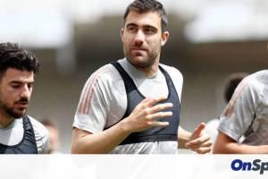 Ολυμπιακός: Έτοιμος για τελικό ο Σωκράτης! (Photos)