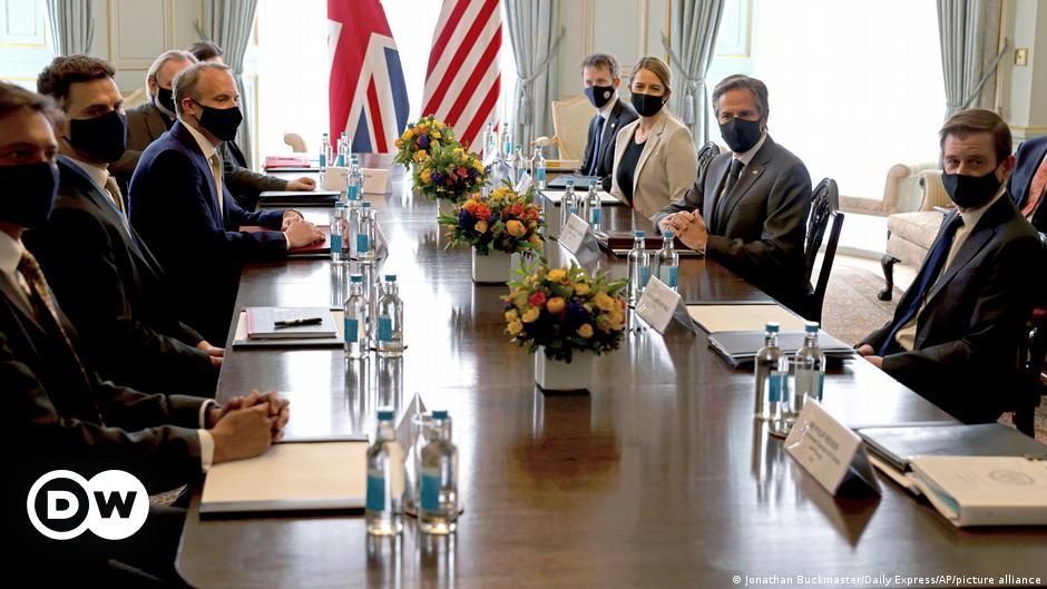 G7: Η ατζέντα των ΥΠΕΞ στο Λονδίνο   DW   04.05.2021