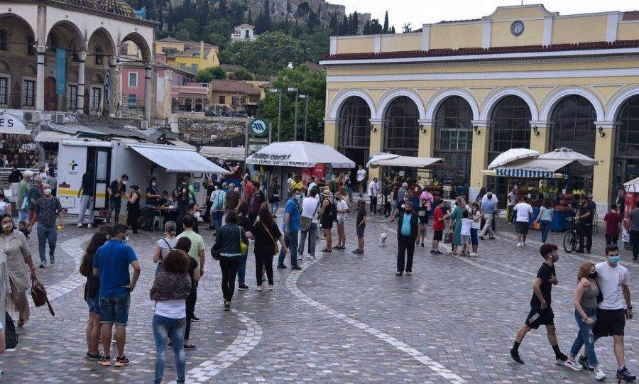 Κορονοϊός: 400 κρούσματα σε Αττική, 84 σε Θεσσαλονίκη – Ο χάρτης της διασποράς