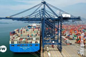 Μποτιλιάρισμα πλοίων στην Κίνα λόγω κορωνοϊού | DW | 23.06.2021