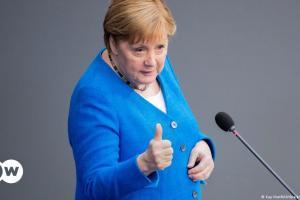 Τελευταία ομιλία της Μέρκελ στη γερμανική βουλή   DW   25.06.2021