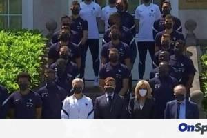 Euro 2020: Το μπράβο του Μακρόν στον Εμπαπέ και οι Καντέ, Μπενζεμά! (photos)