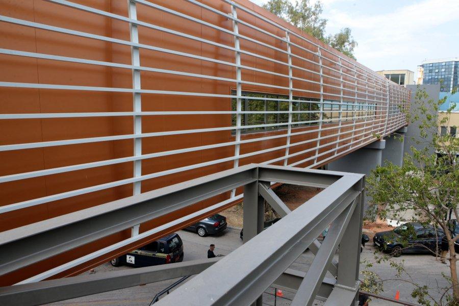 Εγκαινιάστηκε η πεζογέφυρα 125 μέτρων στο «Σωτηρία»