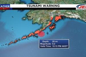 Ισχυρός σεισμός 8,2 Ρίχτερ στην Αλάσκα – Προειδοποίηση για τσουνάμι - Ειδήσεις - νέα - Το Βήμα Online