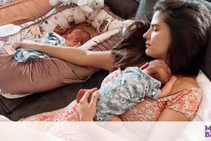 Μπόμπα - Τανιμανίδης: Δες πώς έχει γίνει σαλόνι τους με την άφιξη των δίδυμων κοριτσιών τους
