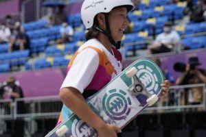 Ολυμπιακοί Αγώνες - Σκεϊτμπόρντινγκ: Χρυσή Ολυμπιονίκης η 13χρονη Νισίγια